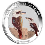 Kookaburra 1 Uncja Srebra 2017 rok (World Money Fair Berlin 2017)