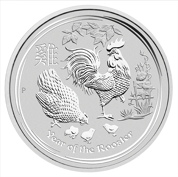 Rok Koguta (Year of the Rooster) 10 kg Srebra